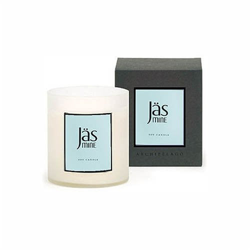 A.B. Home Large Box Candle Jasmine 14 oz