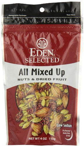 EDEN FOODS Snacks All Mixed Up - 4 oz
