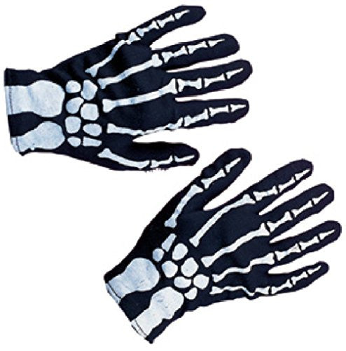 Child Skeleton Gloves - Black/White