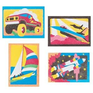 "Sand Art Boards - Getting' There, 5""x7"" (Pack of 12)"