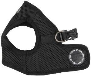 Soft Vest Harness B - Black, Small