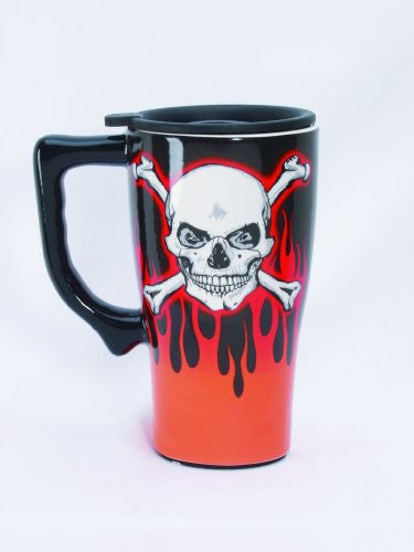 Skull & Crossbones Travel Mug