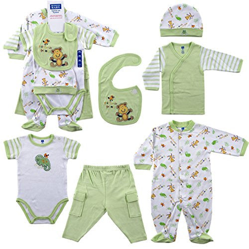 6-Piece Rainforest Layette Set 0-3 M