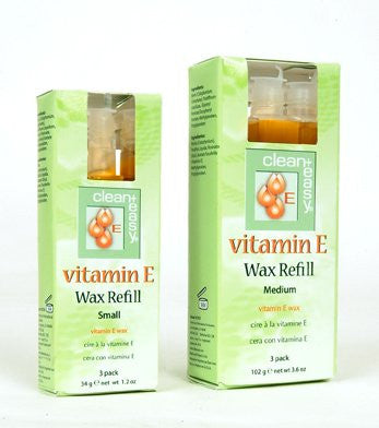 Vitamin E Wax Refills, Medium (Bikini) Vitamin E Wax