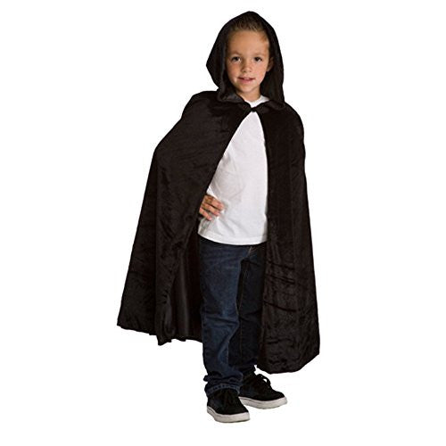 "Cloak Black (L/XL 5-9 yrs of age, 32"" )"