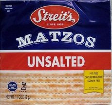 Unsalted Matzo 11.0 OZ (Pack of 8)