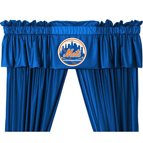 VALANCE New York Mets - Color Bright Blue - Size 88x14