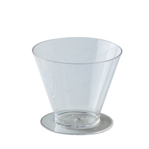 Small Plastic Cone Shape Cup for Catering 100/pk