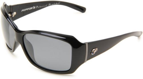 Molly Shiny Black, Smoke TAC-Tical Polarized w. Flash Mirror