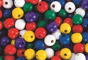 Large Wooden Beads, 14mm (Bag of 100)