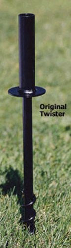 "Twist Ground Socket for 1"" pole"