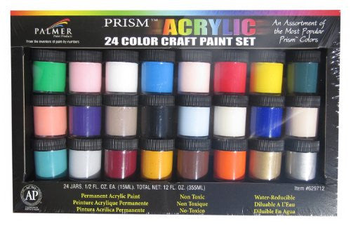 CRAFT PAINT 24-CLR BOXED