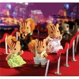 Calico Critters - Furbanks Squirrel Family
