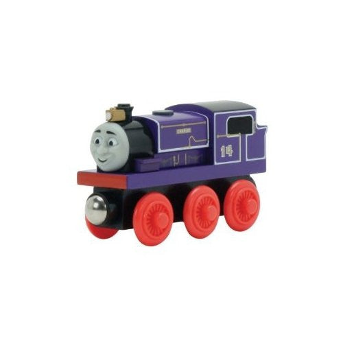 Thomas the Tank Engine Charlie Wooden Railway Engine Vehicle