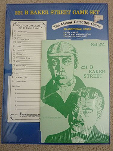 BAKER ST GAME SET #3