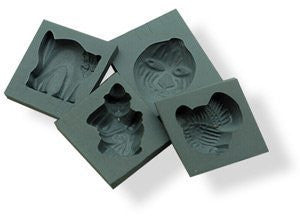 Halloween Set of 4 Rubber Candy Molds