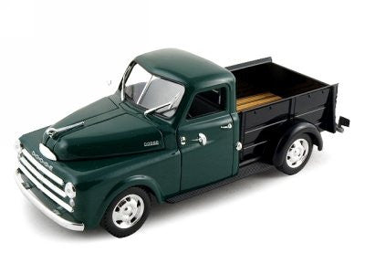 Signature Models - Dodge Pickup Truck (1948, 1/32 scale diecast model car, Green)