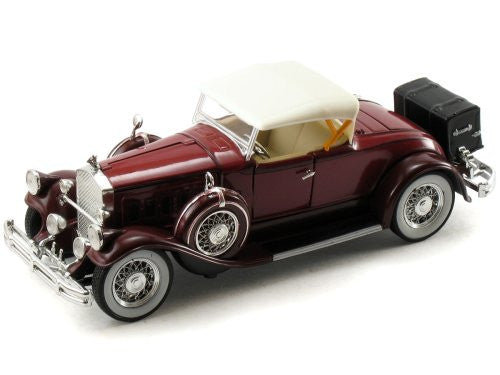 Signature Models - Pierce-Arrow Model B (1930, 1/32 scale diecast model car, Burgundy)