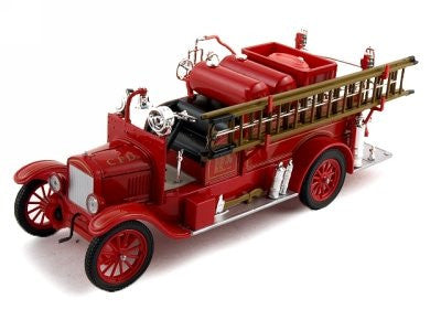 Signature Models - Ford Model T Fire Truck Chicago Fire Dept. (1926, 1/32 scale diecast model car, Red)