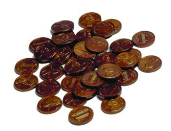 Pennies, Plastic set of 100