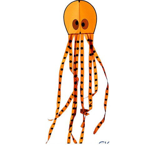 Orange Opie the Octopus Kite