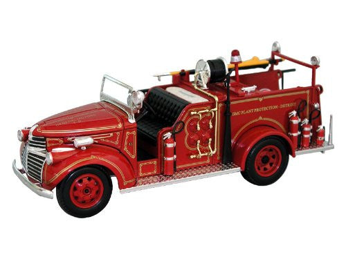 Signature Models - GMC Fire Truck Dearboro Fire Dept (1941, 1/32 scale diecast model car, Red)