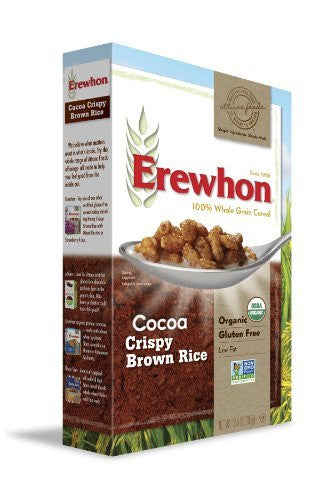 EREWHON Cereal Cocoa Crispy Brown Rice - 10.5 oz