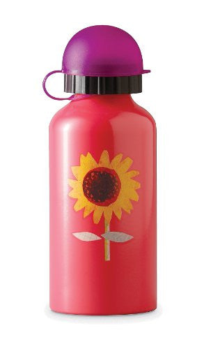 Crocodile Creek 10 oz. Stainless Steel Drinking Bottle - Sunflower