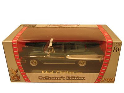 Yatming Road Signature - Edsel Citation Convertible (1958, 1/43 scale diecast model car, Green)