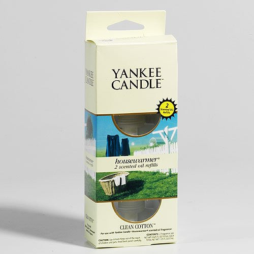 Yankee Candle Clean Cotton Electric Fragrance Refills Twin Pack