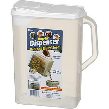 Bag-In Dispenser for Bird Seed, Small Animal Food, More!, for Up To 32lb