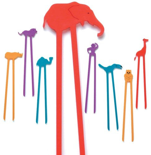Zoo Sticks - Pack of 8
