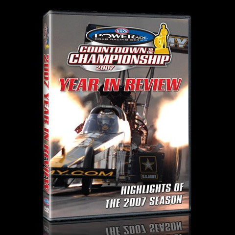 NHRA Drag Review 2007 DVD