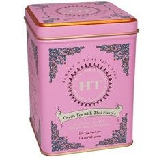 HT Green Tea W/ Thai Flavors - 20 Sachet Tin