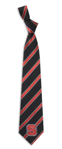NC State Wolfpack Tie Woven Poly 1