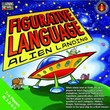 Figurative Language — Alien Landing Game, Green Level