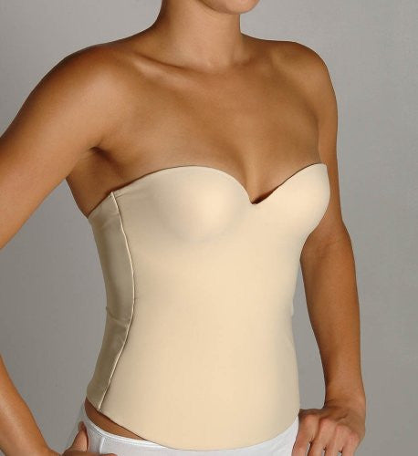Second Skin Bustier - Seamless Cups (Nude / 44D)