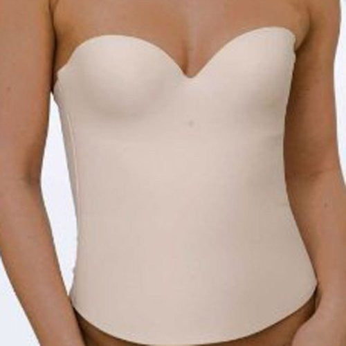 Second Skin Bustier - Seamless Cups (Nude / 36D)