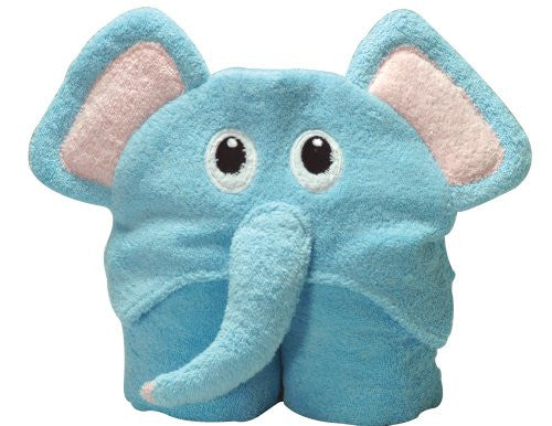 Pickels' Pals Hooded Towel, Elephant
