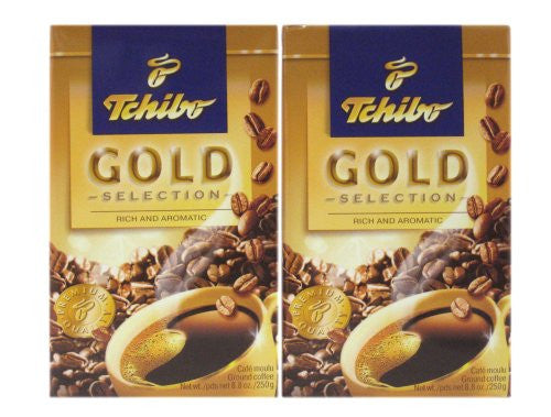 Tchibo Gold Selection Ground Coffee 8.8 oz