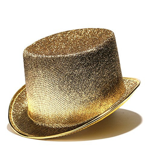 Gold Glittered Hat (Each)