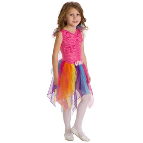 "*NEW* Pink Rainbow Fairy (Lrg 5-7 yrs, child 6, 27"" total length)"