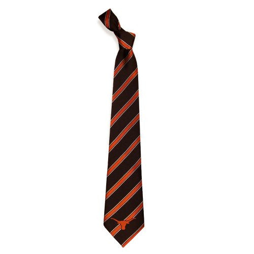 Texas Longhorns Tie Woven Poly 1