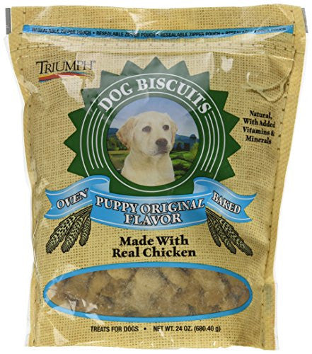 TRIUMPH PUPPY BISCUITS 24oz