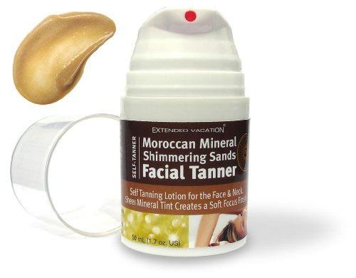 Moroccan Mineral Shimmering Sands Facial Tanner