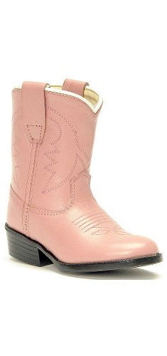 Children's & Youth's Western Boots, Pink 5.5 D