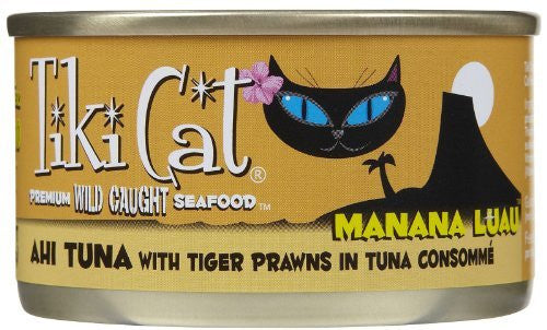 TIKI Cat Manana Ahi Prawn 2.8z