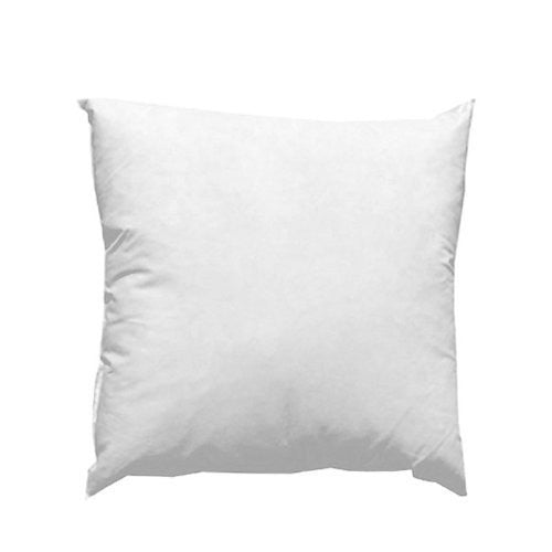 20'' x 20'' Feather/Down Pillow Form White Each
