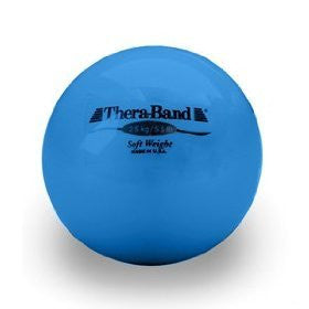 Thera‐Band Soft Weight ball, blue, 2.5kg/5.5lb