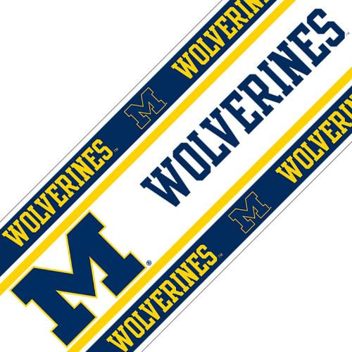 WALL BORDER Michigan Wolverines - Color Multi - Size 0,5x15